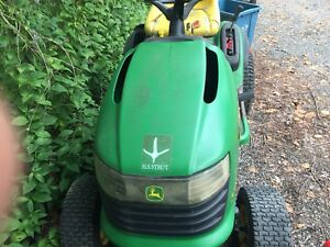 John Deere l120 no mower