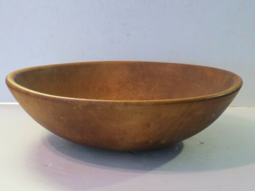 Large Antique Wooden Dough Bowl Parrish Chicago Finest Quality, Marked
