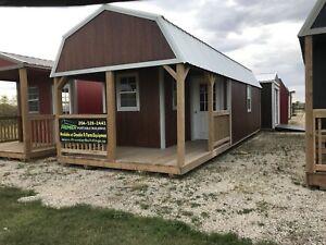 12x32 Premier Lofted Barn Cabin
