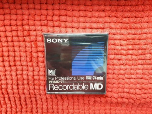 Sony Recordable MD PRMD 74 MiniDisc