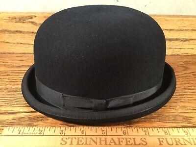 Navy Derby Hat (REED HILL DERBY NAVY BLUE FUR BLEND HAT USA SZ. 6 7/8 55 EXCELLENT)