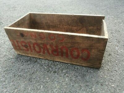 Wooden Box Antique Chabi Chic Free Pp