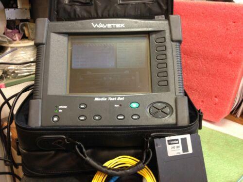 Wavetek Acterna  MTS-5100e OTDR Mini MEDIA Optical Test Platform Set   *otOf