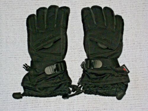 Head Outlast Youth Winter Ski Gloves Size Medium Black