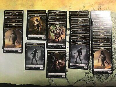 Zombie Token - MTG 8x Zombie Token x8