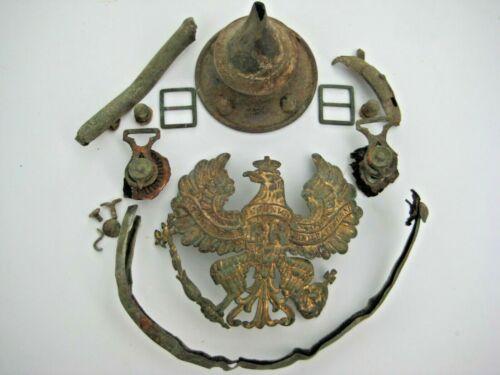 WW I Germany parts for pickelhaube