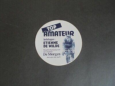 Sticker autocollant : Etienne De Wilde