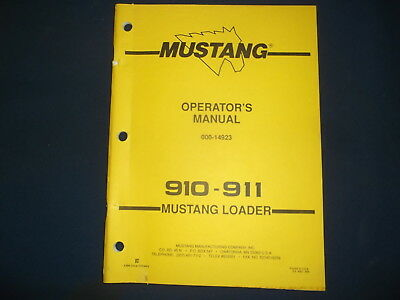 Mustang Skid Loader | Owner's Guide to Business and