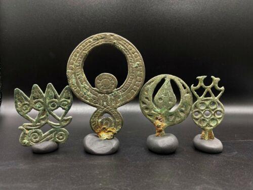 Ordos Bronze Jewelry Ornaments Hair Pins Ancient Scythians Mongolian Steppe Era