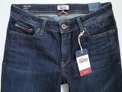 TOMMY HILFIGER   Jeans  MID  RISE  BOOT  SANDY  Blau  W27,W28,W29,W30,W31  Neu Mid-rise Boot