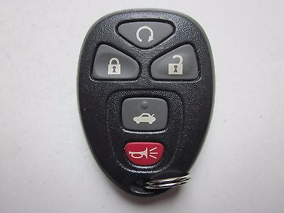 OEM GM CHEVY KEYLESS REMOTE ENTRY KEY FOB ALARM 15912860 OUC60221 / 5 BUTTON