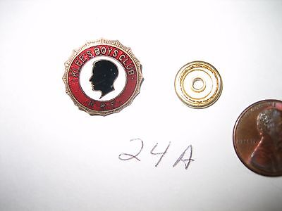 VINTAGE Fraternal Society Klee's Boys Club Enamel Pin K.R.F. BADGE