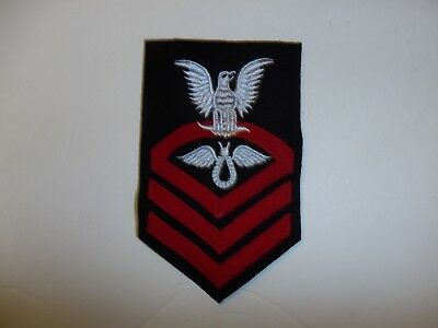 b5170 US Navy Rate 1921 - 1927 Aviation Rigger Chief Petty Officer blue IR34A
