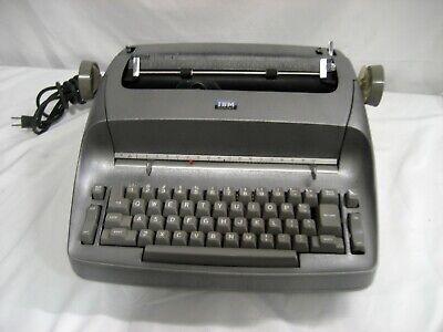 Refurbished Ibm Selectric I Typewriter- Star Wars Silver Custom Paint Wwarranty
