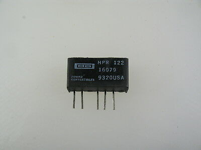 1pc Burr-brown Hpr122 Dc-dc Converter 24vin -12vout 750mw 750v Isolation