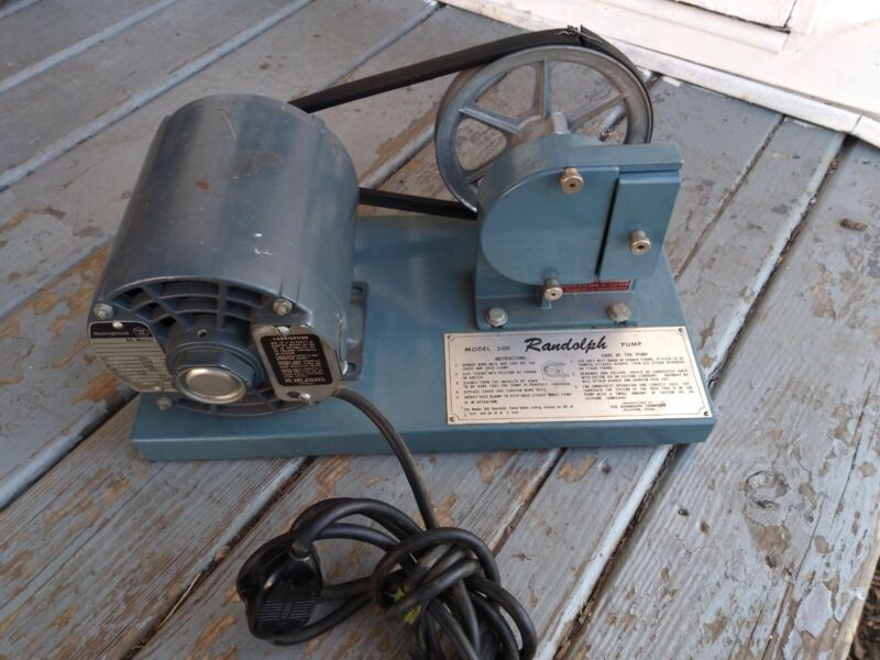 Randolph Peristaltic Pump Model 500 Free Shippping!