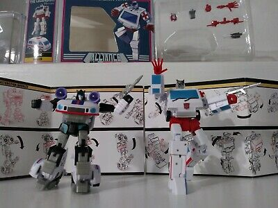 Transformers Newage Legendary Heroes Miller Ratchet, Jazz Manero 🇺🇸 lot g1 sty