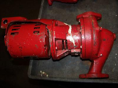 Bell Gossett Model 60 Water Circulator Pump 1-12 Aa418bf 14 Hp 115 Volt