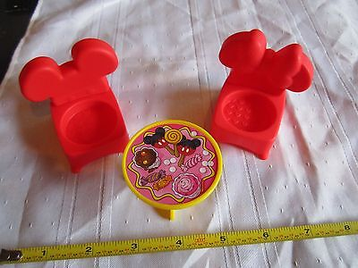 Fisher Price Little People Mickey & Minnie Mouse House Disney Table Chair Set  for sale  Shipping to India