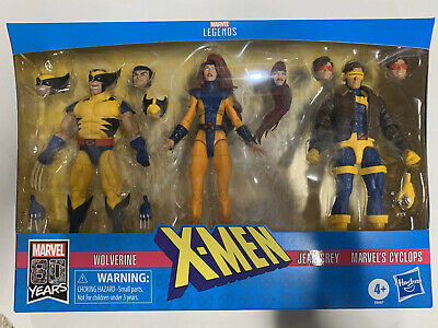 Marvel Legends X-Men 3-pack Love Triangle Jean Grey Cyclops Wolverine In stock