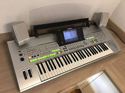 Yamaha Tyros 1 61 Note Keyboard Arranger With Owners Manual, Speakers & Sub