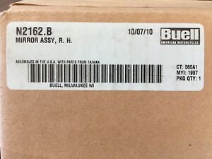 Buell mirror assy, Right hand N2162.b
