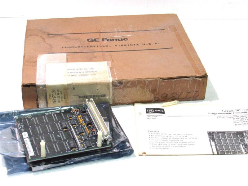 GE FANUC IC697MEM713/IC697MEM713A MEMORY MODULE ***NIB***