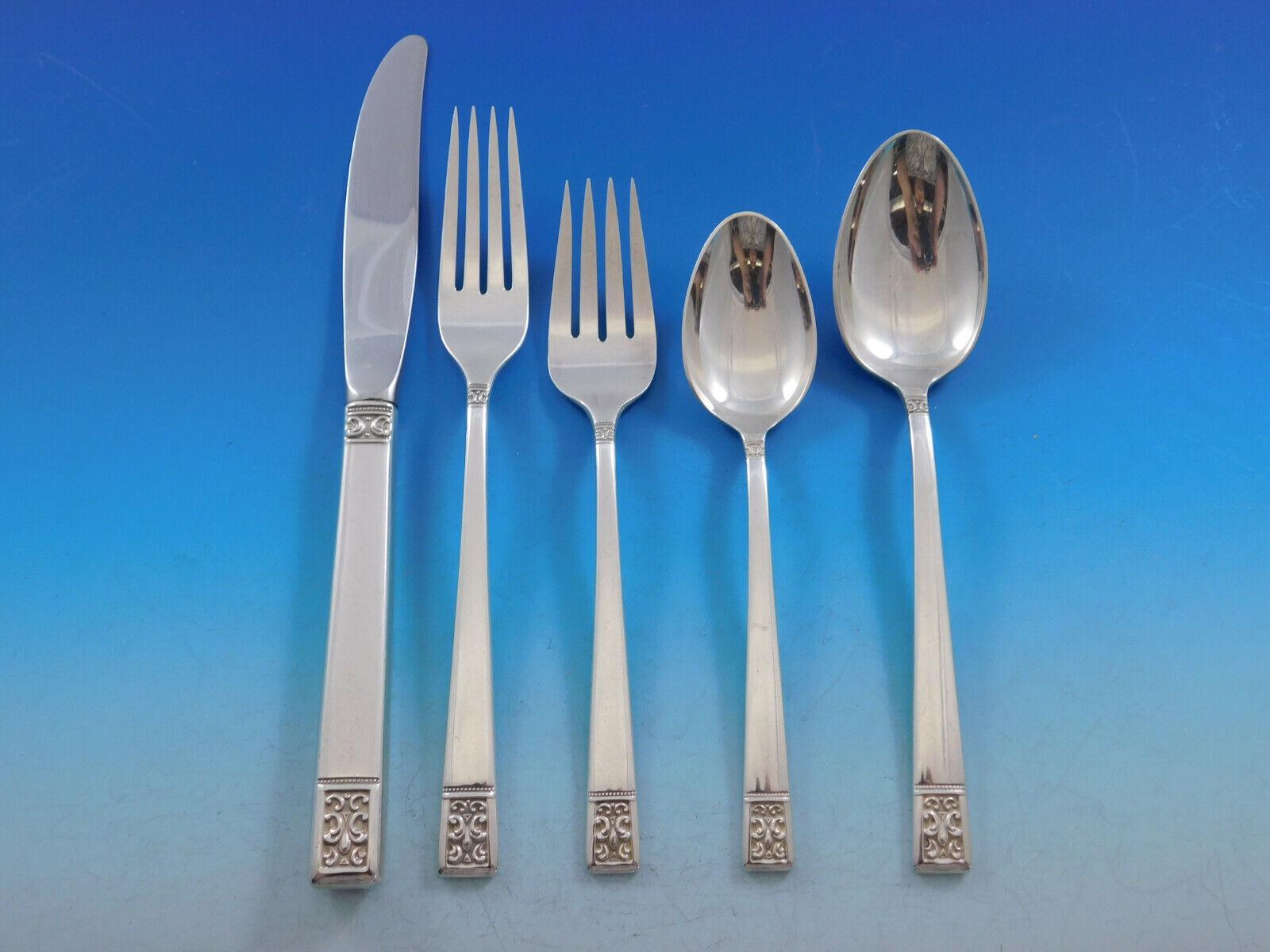 Rondo by Gorham Sterling Silver Baked Potato Fork Custom Made 7 12