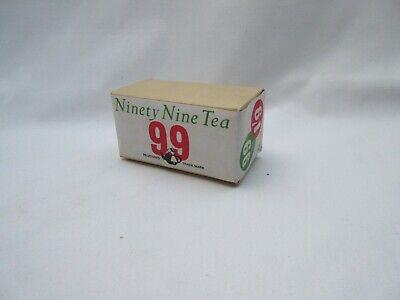 Vintage unopened paper packet of Co Op 99 tea leaves original price 1/9d