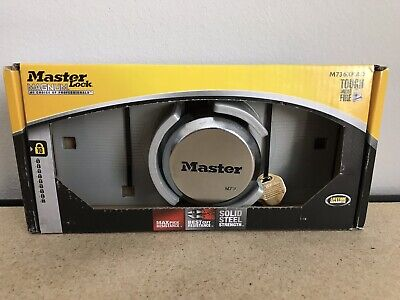 New Master Lock Steel Shackle Keyed Padlock Magnum M736xkad Max Security