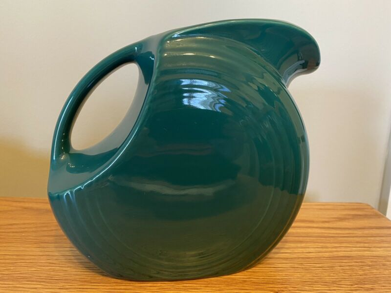 Fiestaware Green Pitcher