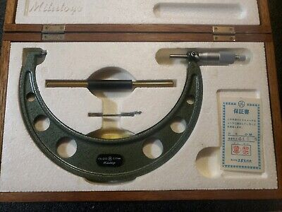 Mitutoyo 103-144a Om-200 Outside Micrometer 175-200 Mm Metric
