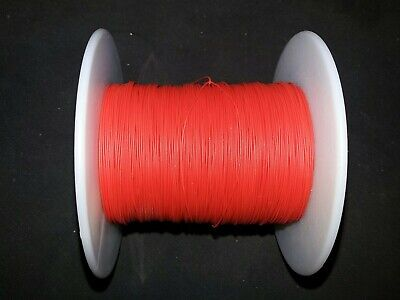 30 Awg Solid Kynar Wire Ul1423 Red 500 Ft Spool