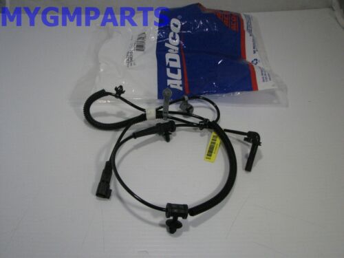 ABS Wheel Speed Sensor Rear Right ACDelco GM Original Equipment 23483152