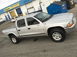 4X4 Crew Cab Dodge Dakota
