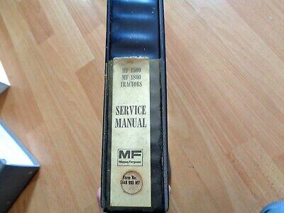 Massey Ferguson Mf 1500 Mf 1800 Tractor Factory Service Manual Oem Original
