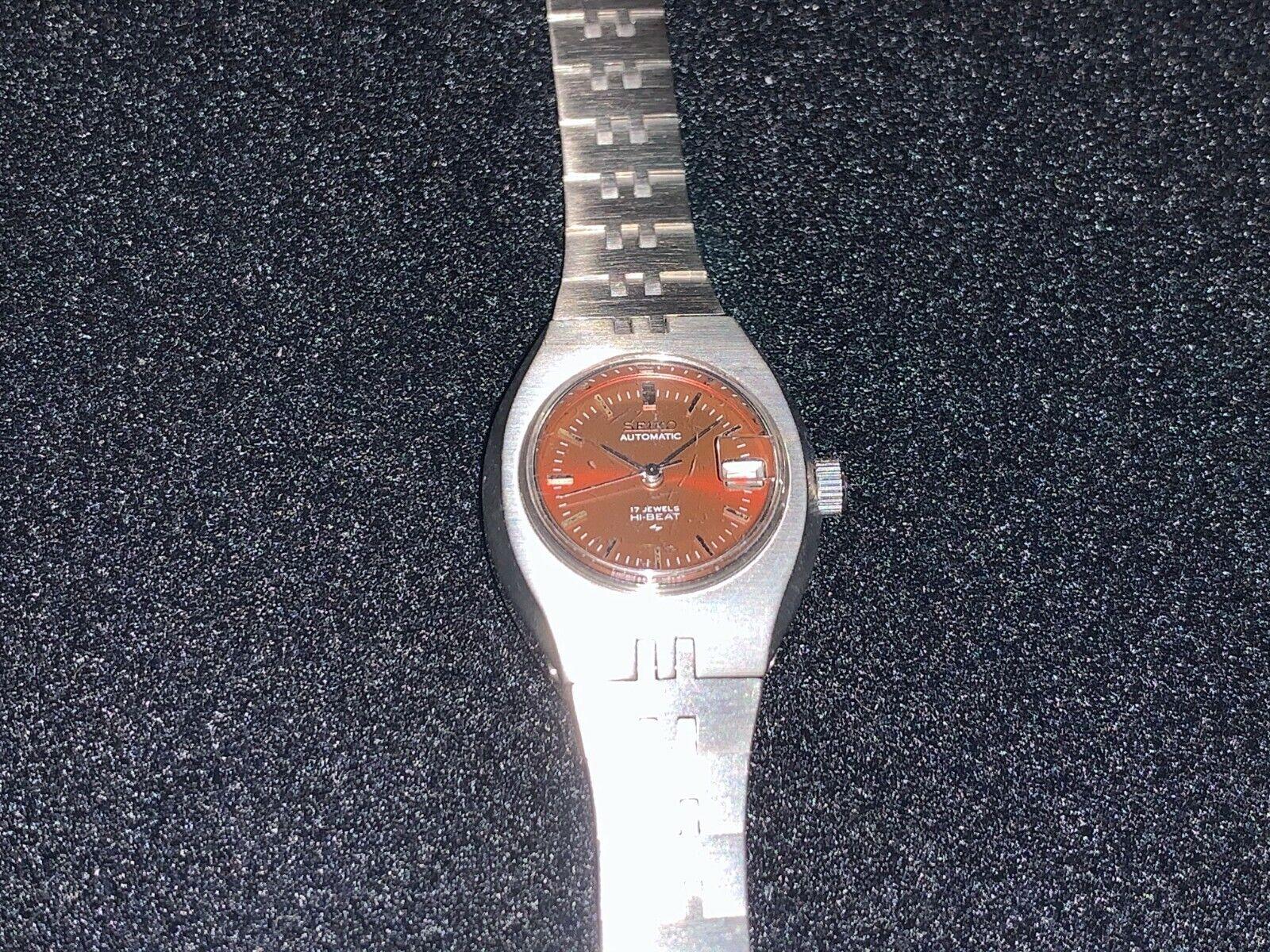 Seiko Lady's Automatic Watch 2205-0499 NOS SAMPLE PRESENTATI