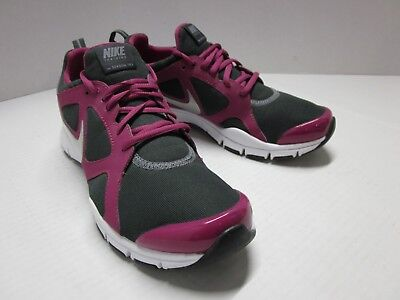 low cost 75a74 ee3b7 Nike Run Train IN SEASON TR2 Shoe Sneaker Comfort Footbed Gray Raspberry  7.5 LN