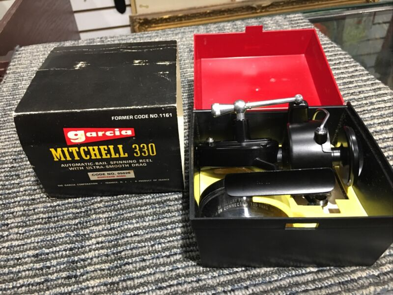 Vintage Garcia Mitchell 330  Brand new in Original Box w/Papers