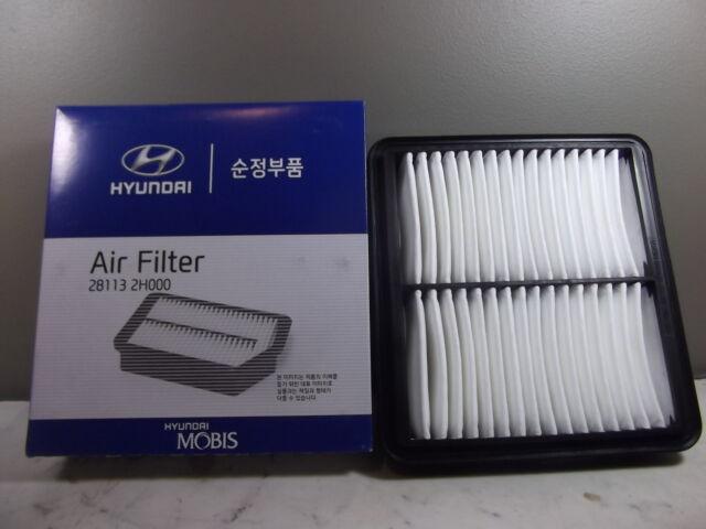 GENUINE HYUNDAI ELANTRA HD SEDAN 2.0L PETROL ALL MODEL AIR FILTER 2006 ~ 2012