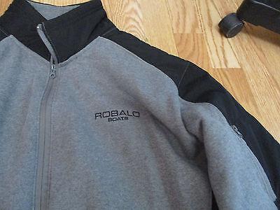 Robalo Boats mens zippered jacket Gear for Sports XXL fleece