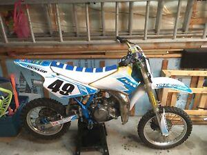 Motocross suzuki rm85 modifié vente ou échange