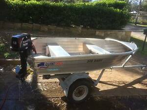 L@@K - Quintrex 310 Dart, NEW 9.8 HP Tohatsu, Galvinised trailer West Pennant Hills The Hills District Preview