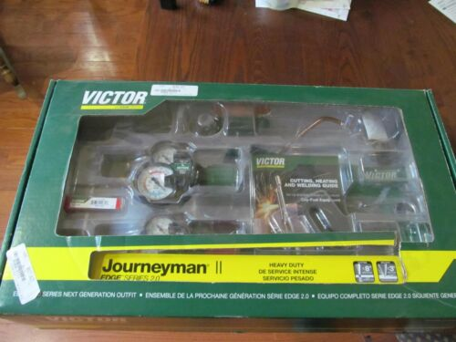 Victor 0384-2111 Journeyman II Edge 2.0 Plus Acetylene Cutting Torch Outfit