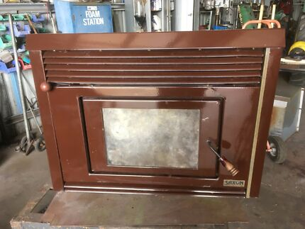 Wood heater reconditioned.