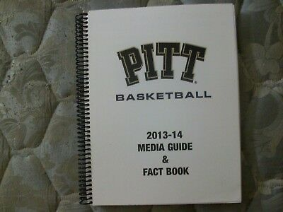 2013 14 Pitt Panthers Basketball Media Guide Yearbook 2014 Pittsburgh College Ad