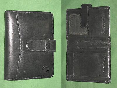 Unique Pocket Full Grain Leather Franklin Covey Planner Binder Organizer