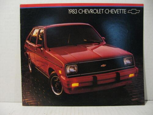 1983 Chevrolet Chevette Diesel Scooter Car Dealer Brochure Catalog