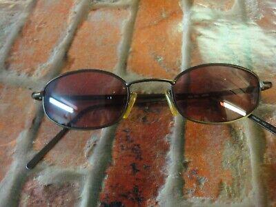 DKNY Pall Mall K01159 SUNGLASSES Bronze oval metal frame prescription (Dkny Prescription Sunglasses)