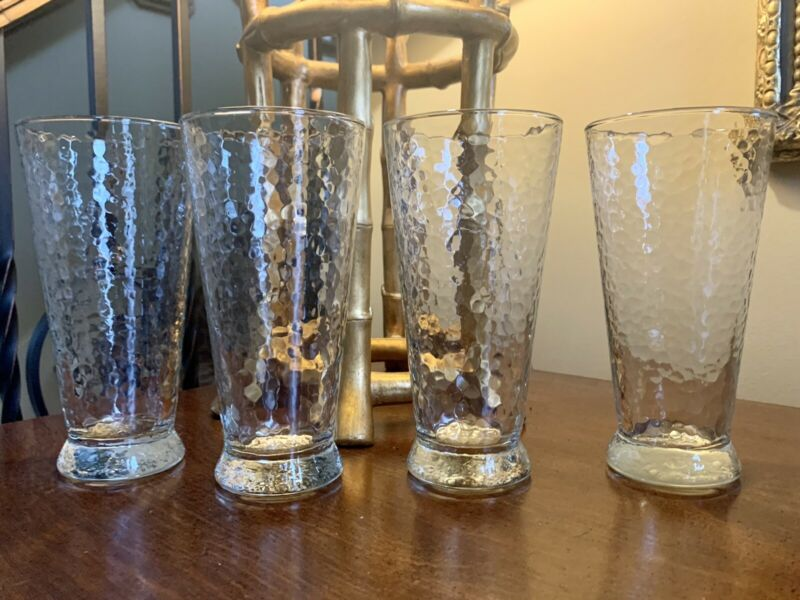 Set Of 4 Southern Sippers By Southern Living 22oz Flat Tumblers